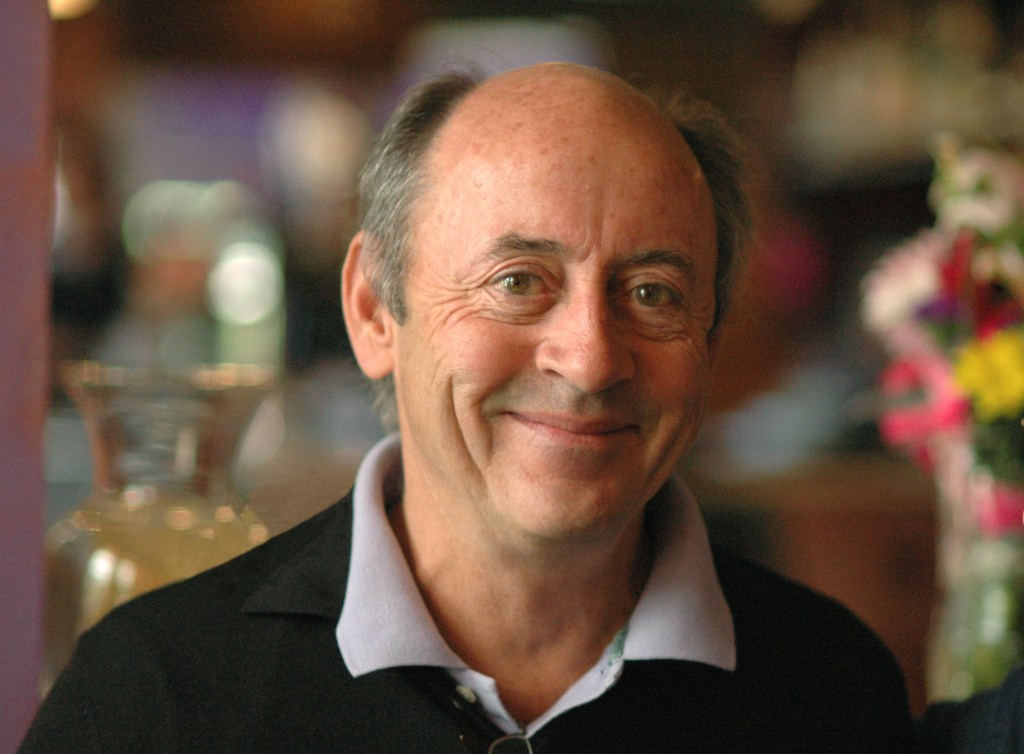 Photo of poet Billy Collins.