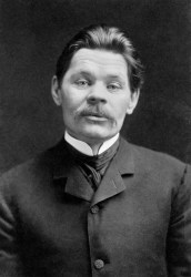 Photo of Maxim Gorky.