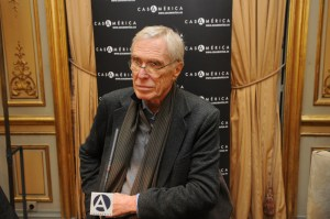 Photo of Mark Strand.