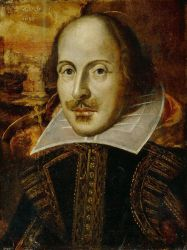 Photo of William Shakespeare.