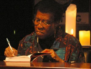 Photo of Octavia E. Butler.