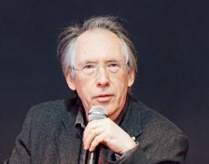 Photo of Ian McEwan.