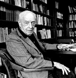 Photo of Saul Bellow.