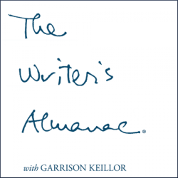 The Writer's Almanac logo