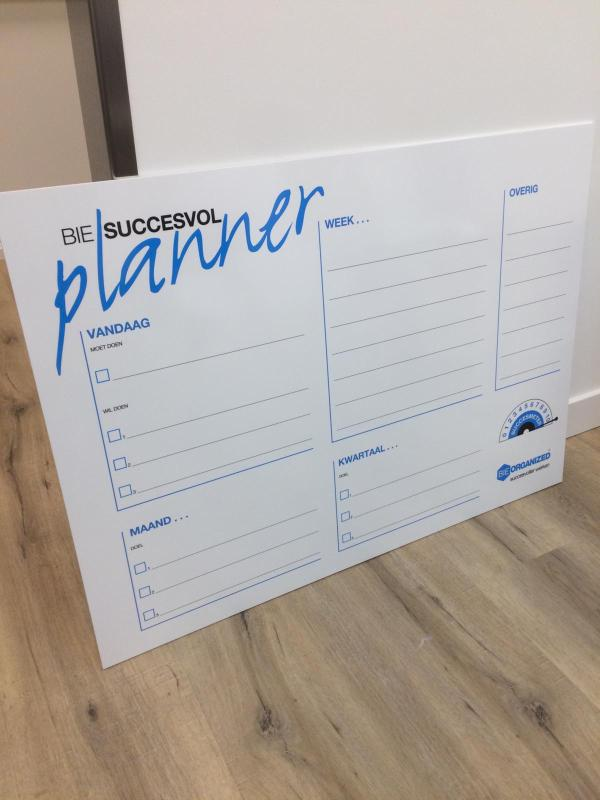 Bie succesvol Planner