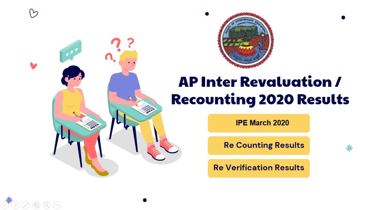 AP Inter Reverification Results 2020
