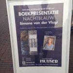 Boekpresentatie Nachtblauw in Delft