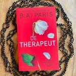 De therapeut - B.A. Paris