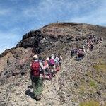 旭岳に登る