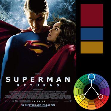 Superman: klasyczna harmonia potriadzie RYB