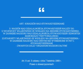 art. 8 pr. o stow.