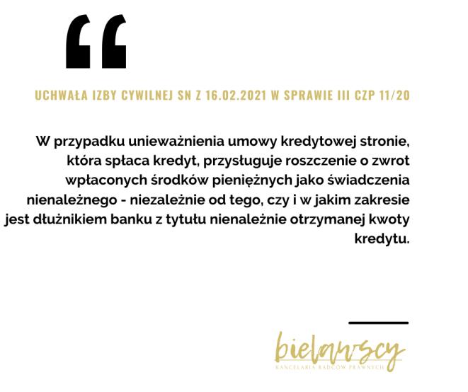 Uchwała III CZP 11/20