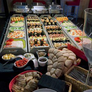 hapjes buffet tafeldromen
