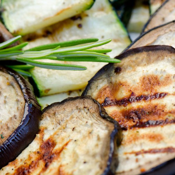 aubergine vegetarisch buffet