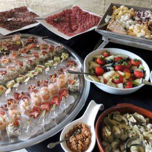 catering buffet kaas en vlees plateau