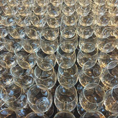 verhuur glaskorf catering