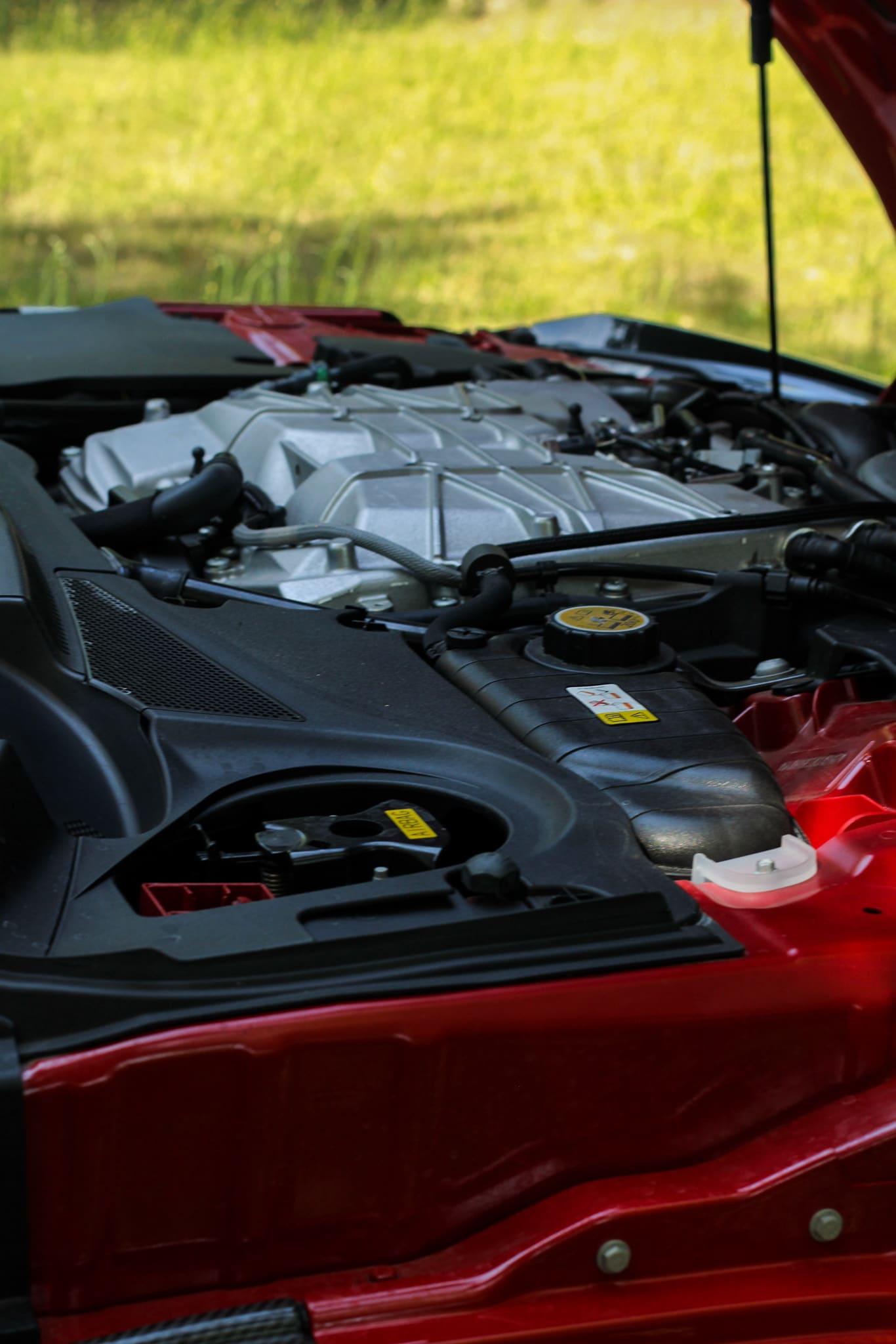 Moteur Jaguar F Type SVR