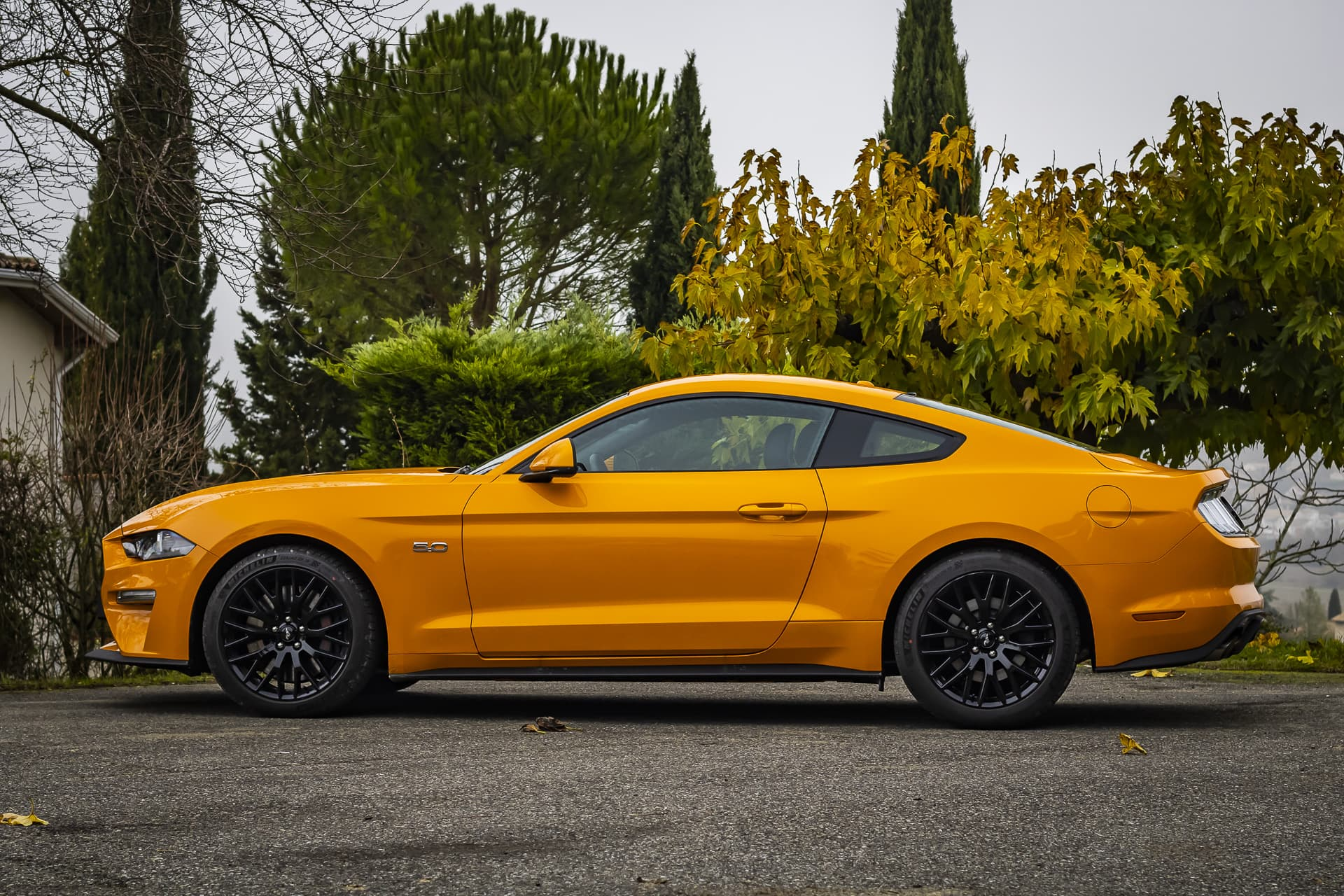Ford Mustang GT profil
