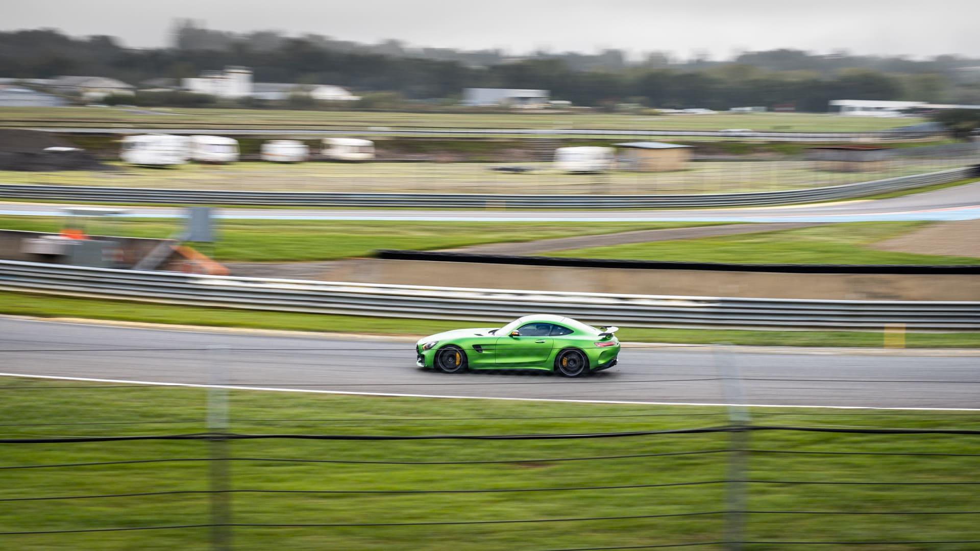 Green AMG GTR