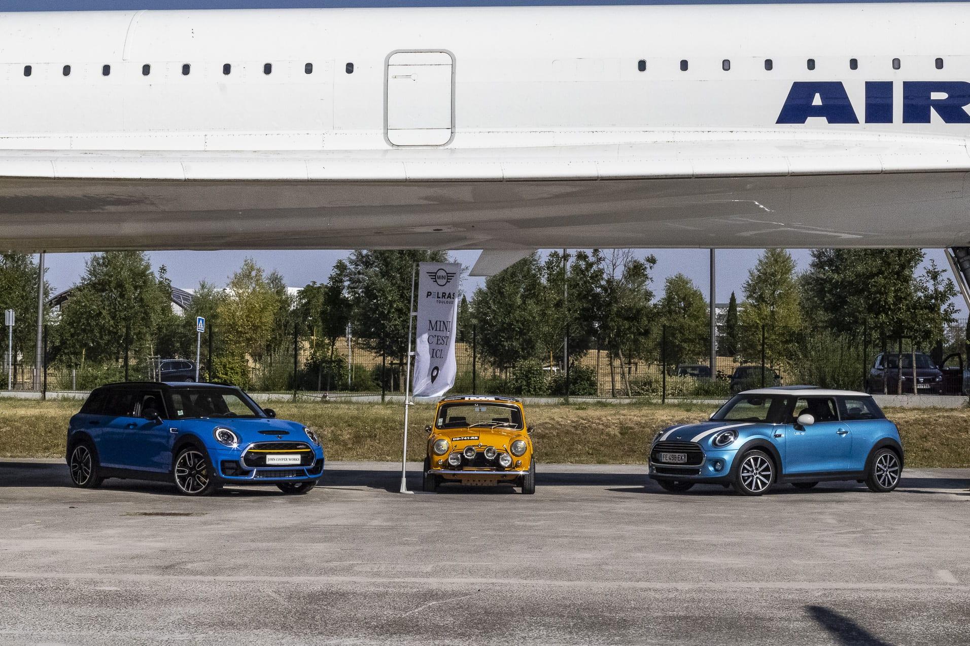 Mini et Concorde
