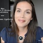 Mes rouges à lèvres favoris pour l'automne (vidéo)