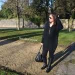 La petite robe pull noire