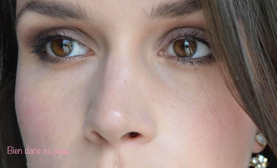 maquillage du jour avec naked 3 de Urban Decay
