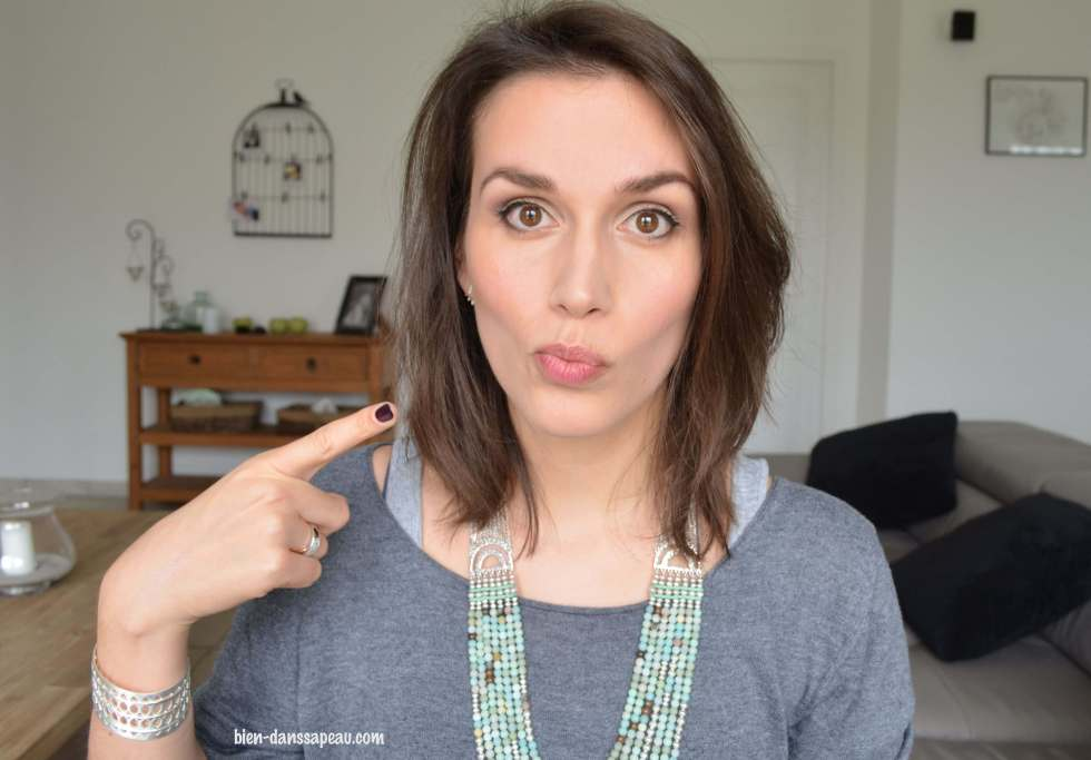 everyday make-up routine teint routine sourcils maquillage blog bien dans sa peau