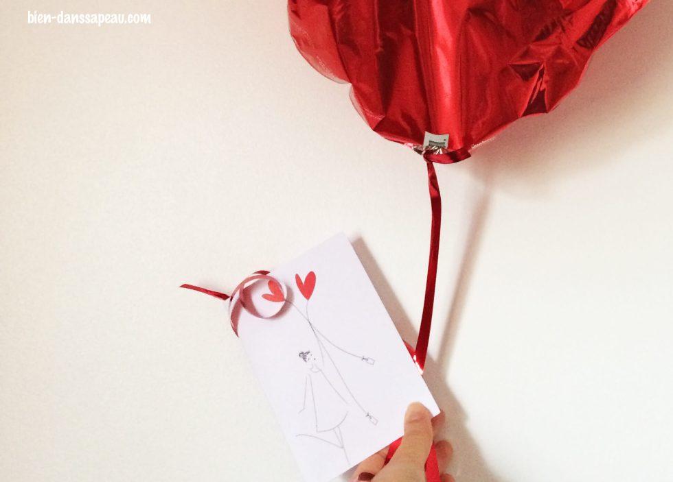mieux que des fleurs ballon coeur