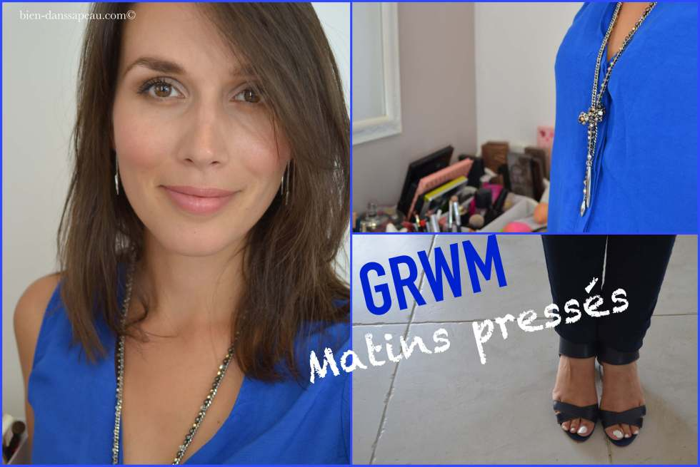 get ready with me spécial matins pressés