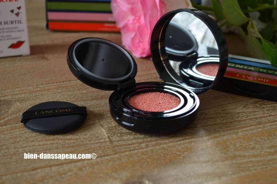 revue-tutoriel-maquillage-lancome-sonia-rykiel-blush-cushion-sorbet-rose
