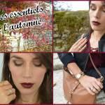 Mes essentiels mode et beauté de l'automne