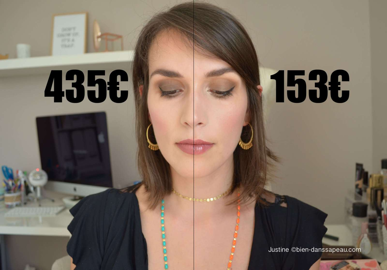 maquillage luxe vs maquillage petit budget