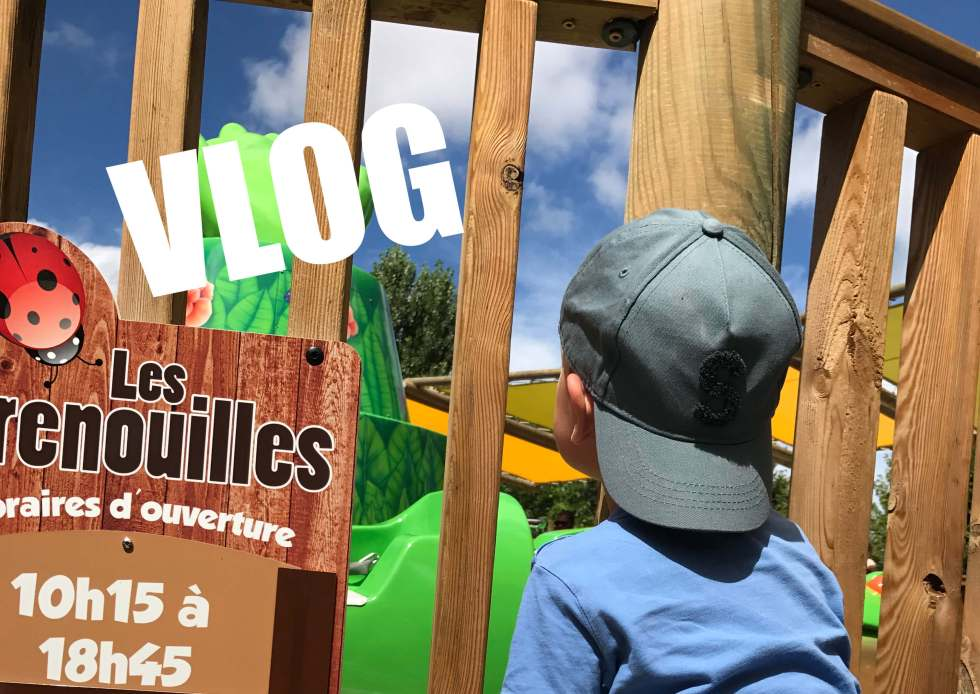 parc d'attractions VLOG BÉBÉ
