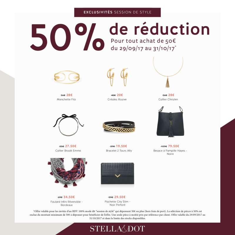 collection hiver 2017 stella & dot