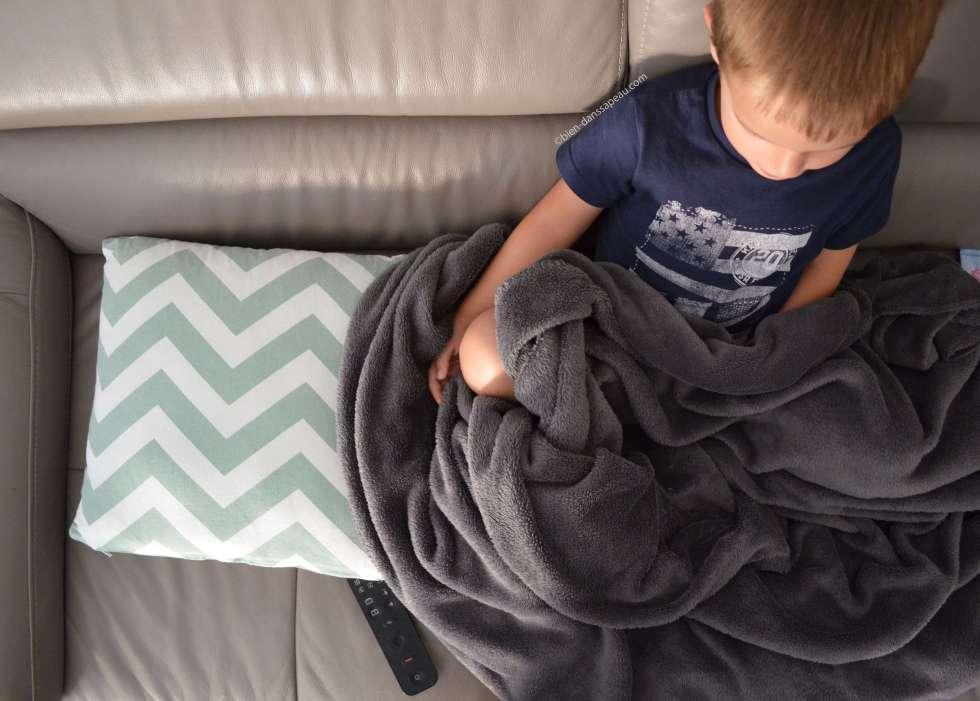 télé et bébé