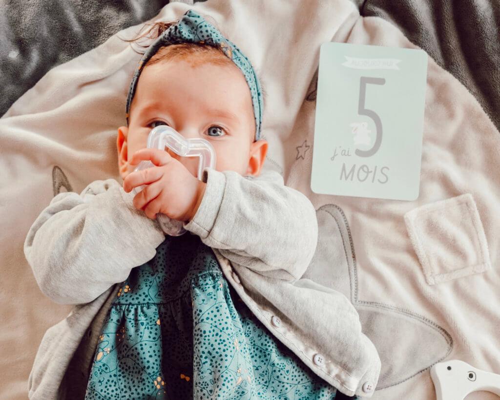5 mois Juliette