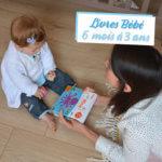Livres Bébé – 6 mois à 3 ans