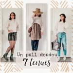 Lookbook hiver – 7 tenues avec un pull doudou