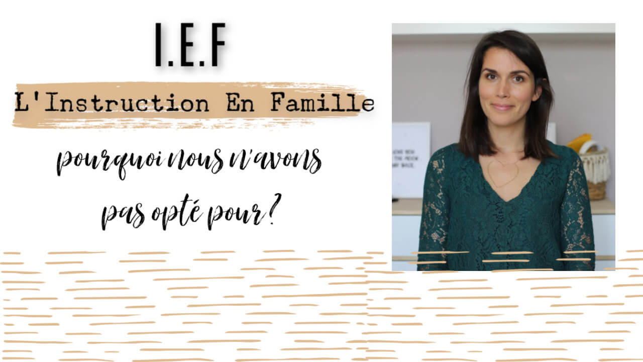 IEF instruction en famille