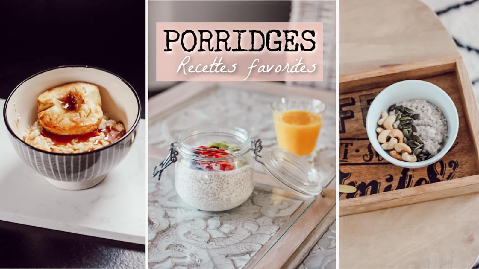porridges recettes