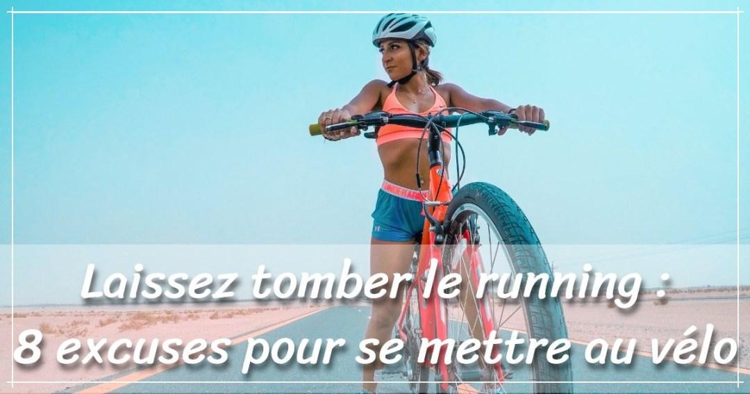 Se mettre au vélo : une femme en VTT