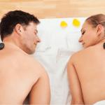 A DEUX ! Massage duo aux pierres chaudes et thé gourmand