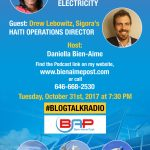 New Blog Talk Radio Show: Haiti, Renewable Energy, and Electricity