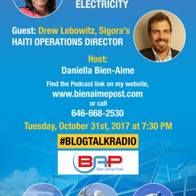 New Blog Talk Radio Show: Haiti, Renewable Energy, and Electricity