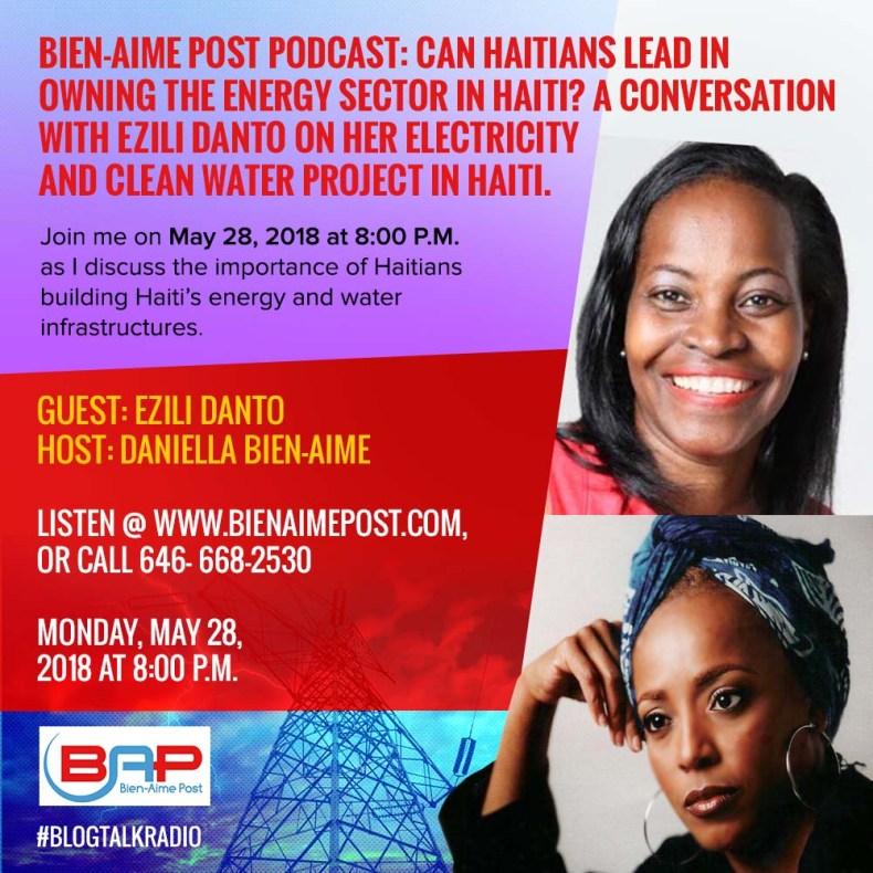 Haiti, Bien-Aime Post, electricity, clean water and Ezili Danto
