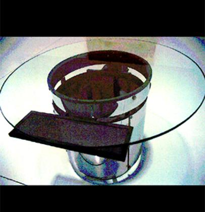 Heberlein 2001 PROJECTO CIBER Ferro e Vidro 80 x 130 cm
