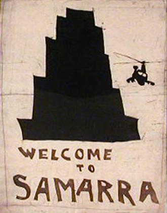 Bartolomeu dos Santos 2003 WELCOME TO SAMARRA Gravura 50 x 37,5 cm