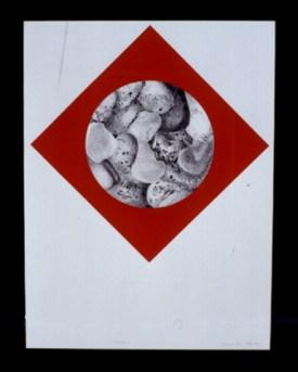 Fernando Cruz 2003 COUTADA I Grafite e Têmpera s/ Papel 77 x 57 cm