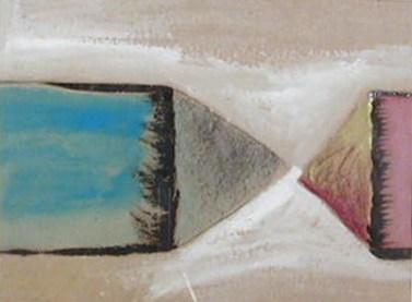 Rui Anahory 1981 PINTURA II 60 x 73 cm Guache s/ Papel
